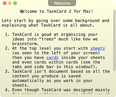 TaskCard - Take notes, create outlines and manage projects.